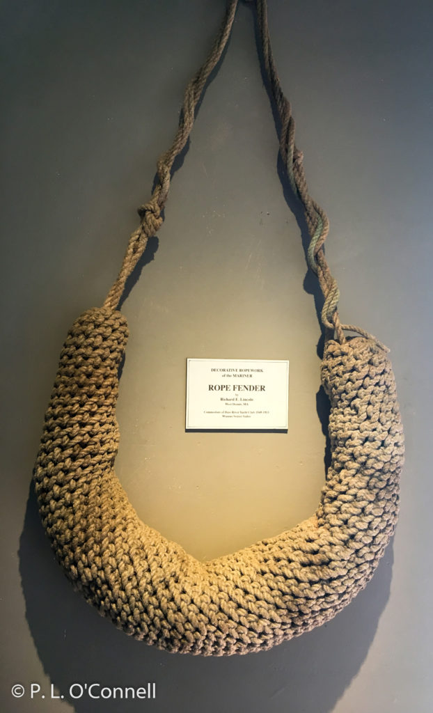 Maritime Museum rope fender