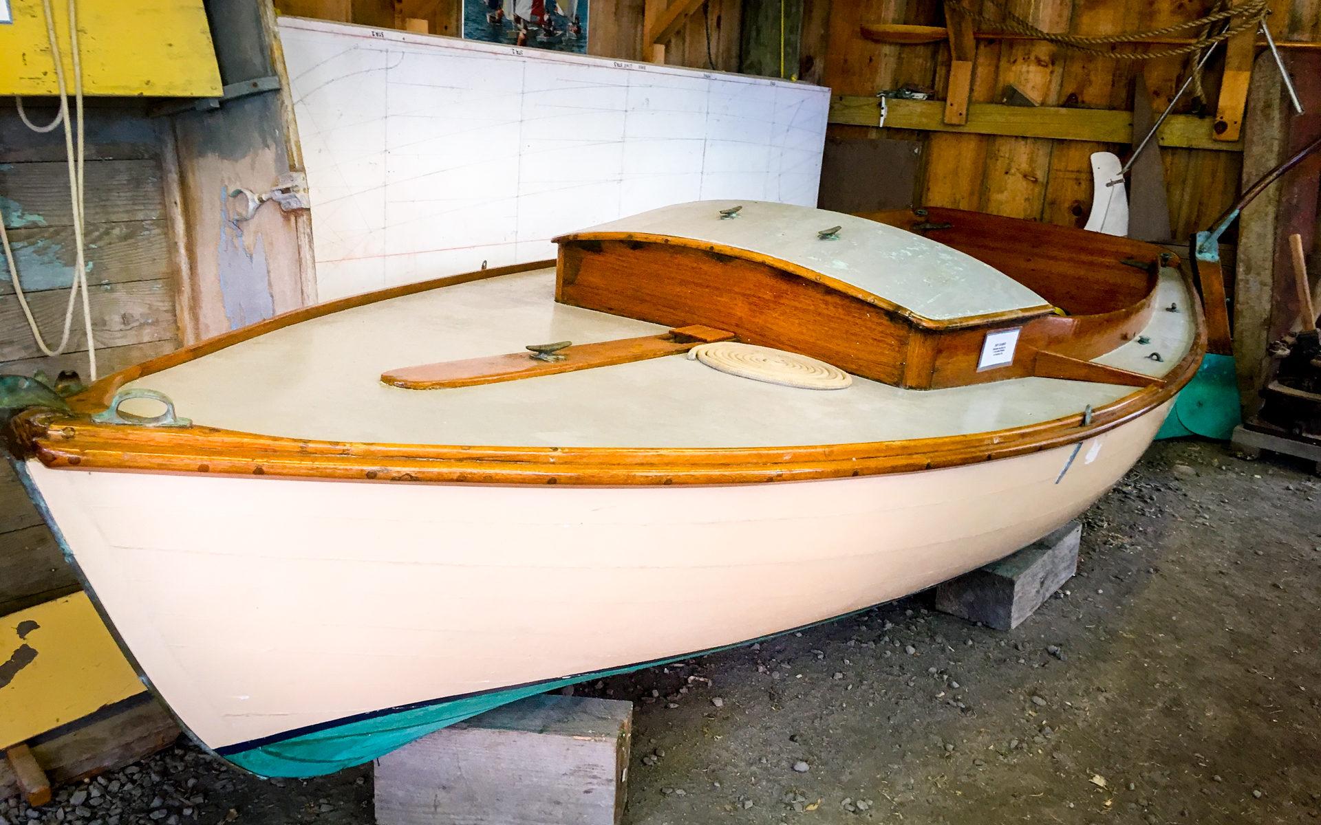 Maritime Museum Wooden Sailboat