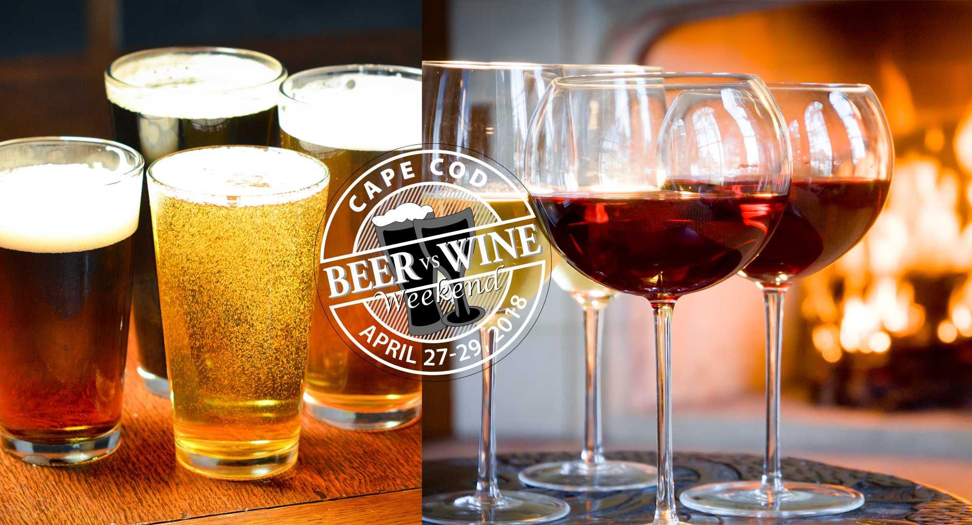 Cape Cod Beer vs Wine Weekend