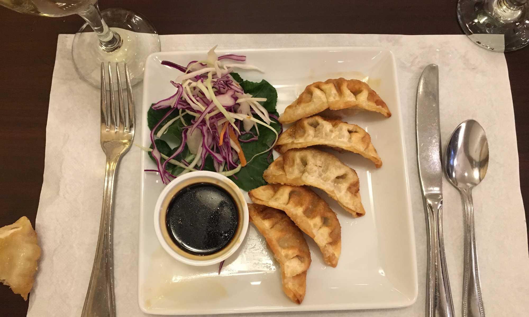 Bangkok Thai Cuisine dumplings