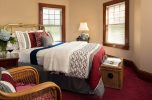 Room 8 - Edna St. Vincent Millay Room bed at our Falmouth B&B
