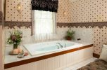 Henry James Penthouse whirlpool bath at our Falmouth, MA bed and breakfast