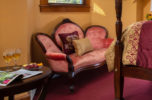Room 9 - Oliver Wendell Holmes Room seating area at our Falmouth B&B