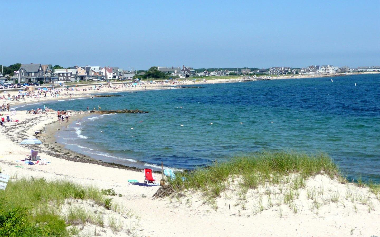 Beach in Falmouth, MA
