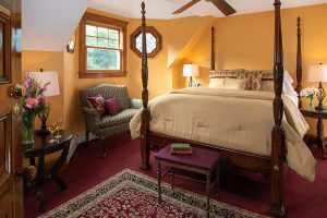 Oliver Wendell Holmes Room at out Cape Cod bed and breakfast