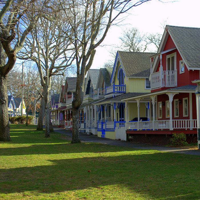 Gingerbread Houses of Martha's Vineyard
