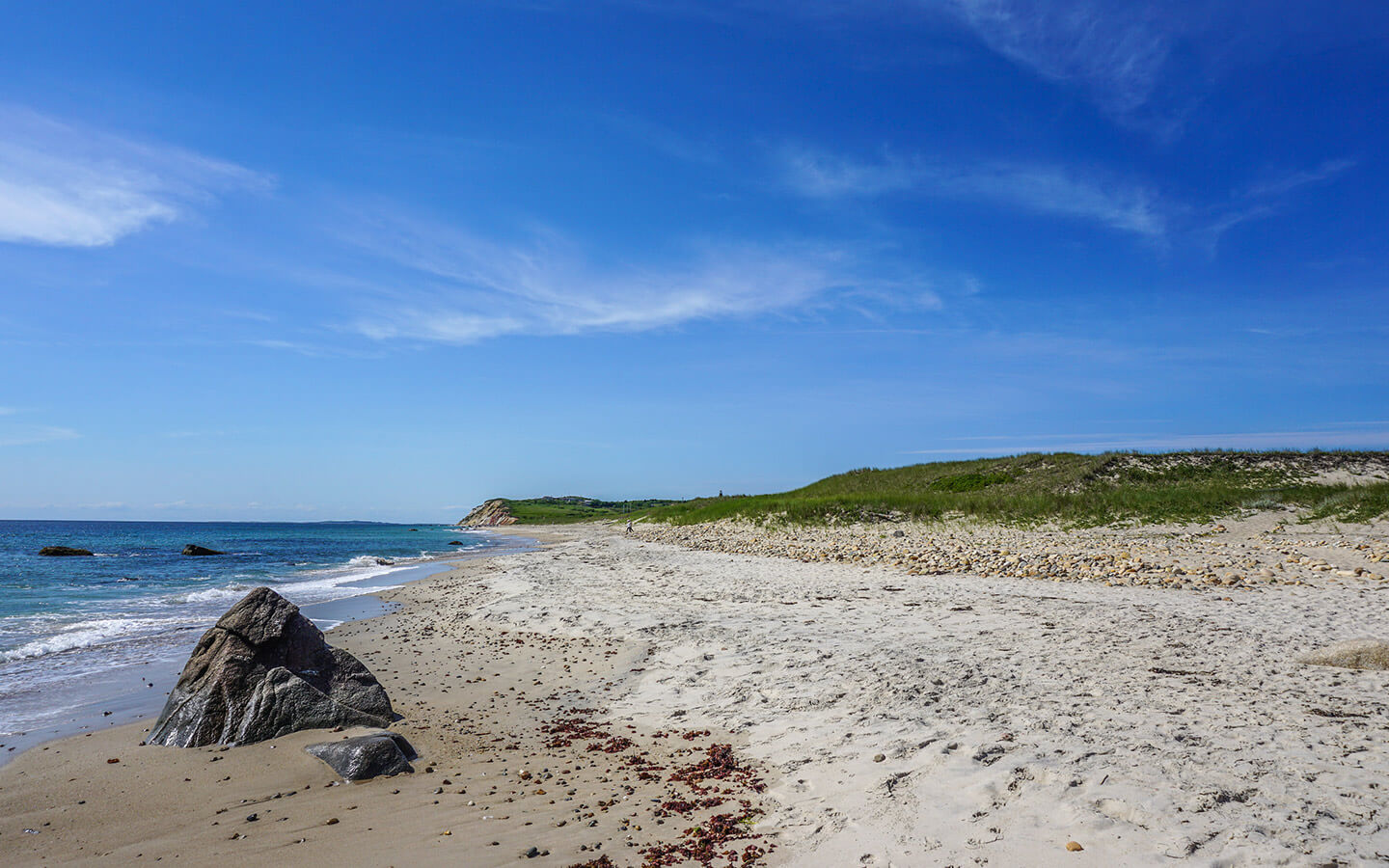 The perfect beach for a day trip to Martha's Vineyard