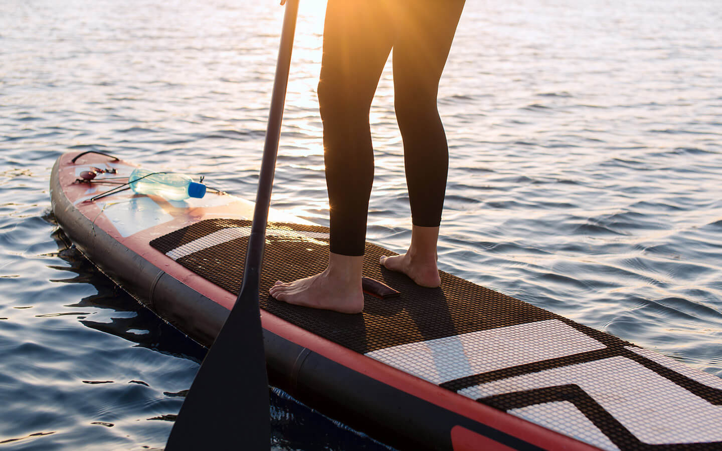 Paddleboarding in Falmouth, MA