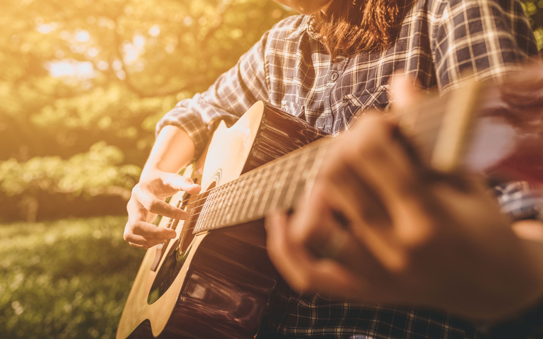 Festival in Falmouth Cape Cod Guitar