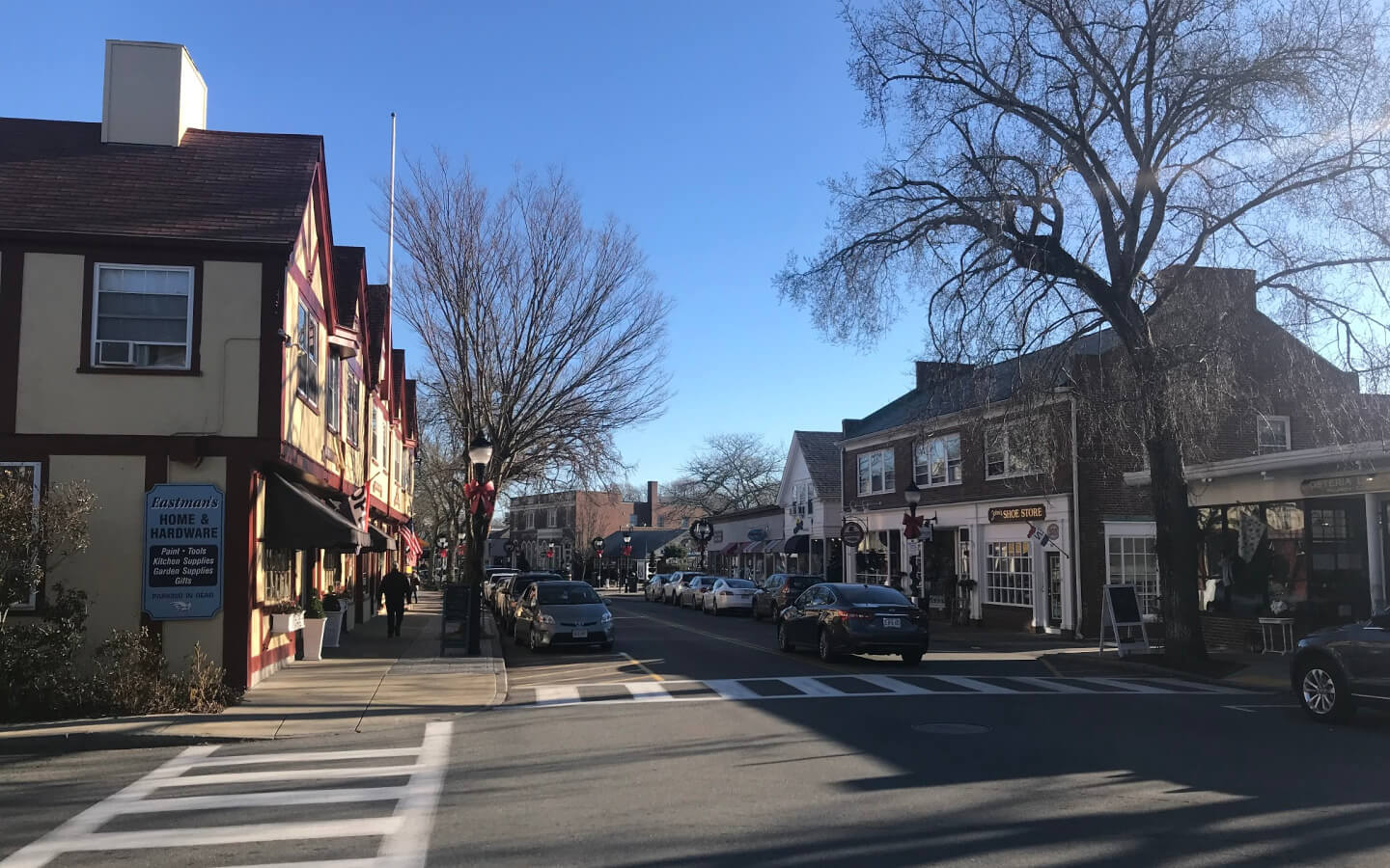 Main street during fall - Bed & Breakfast Near Martha's Vineyard