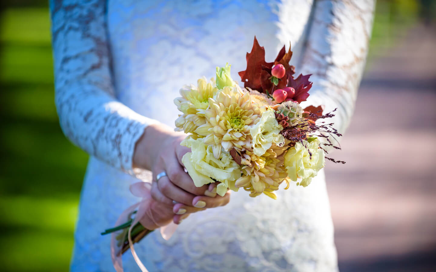 Fall Bouquet at our Falmouth, MA wedding venue