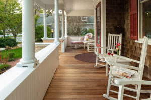 Porch with Rockers