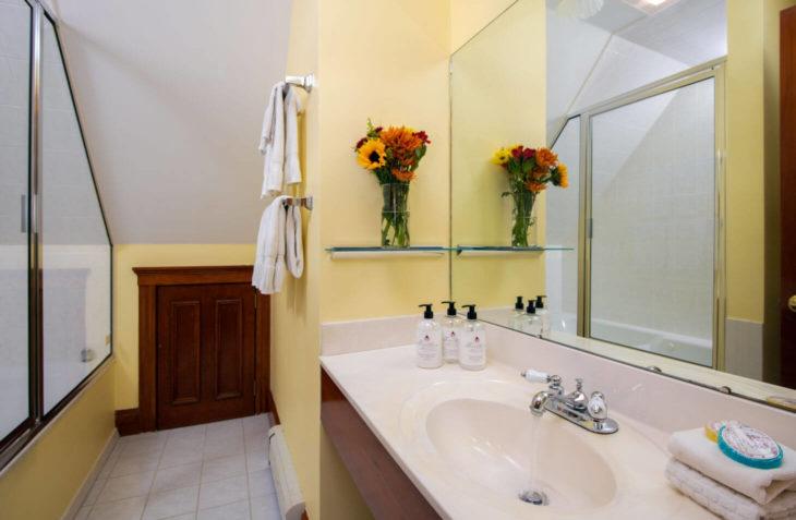 Room 12 - Richard Henry Dana Bathroom at our Falmouth MA B&B in Cape Cod