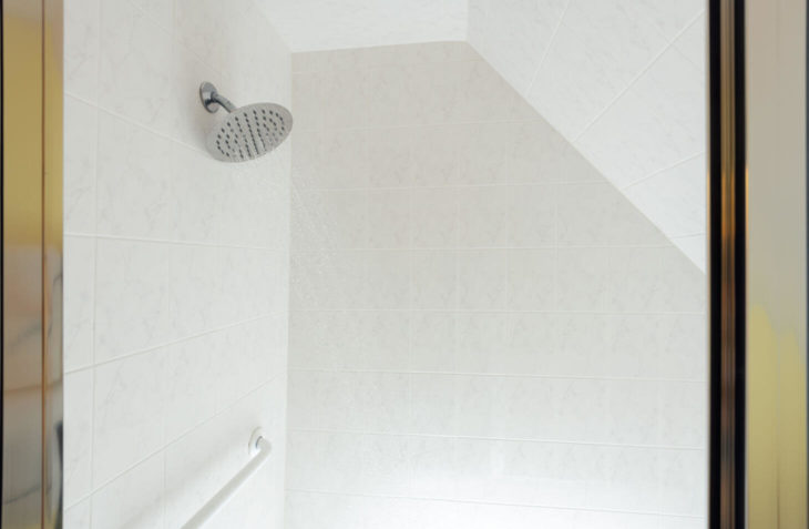 Room 12 - Richard Henry Dana Room shower at our Cape Cod B&B