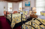 Room C - Samuel Langhorne Clemens queen and twin beds at the best B&B in Cape Cod