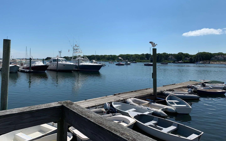 Dock in Cape Cod, MA