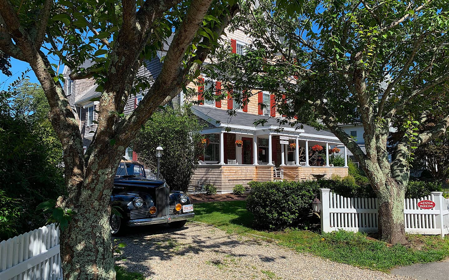 Exterior of our Falmouth MA Inn