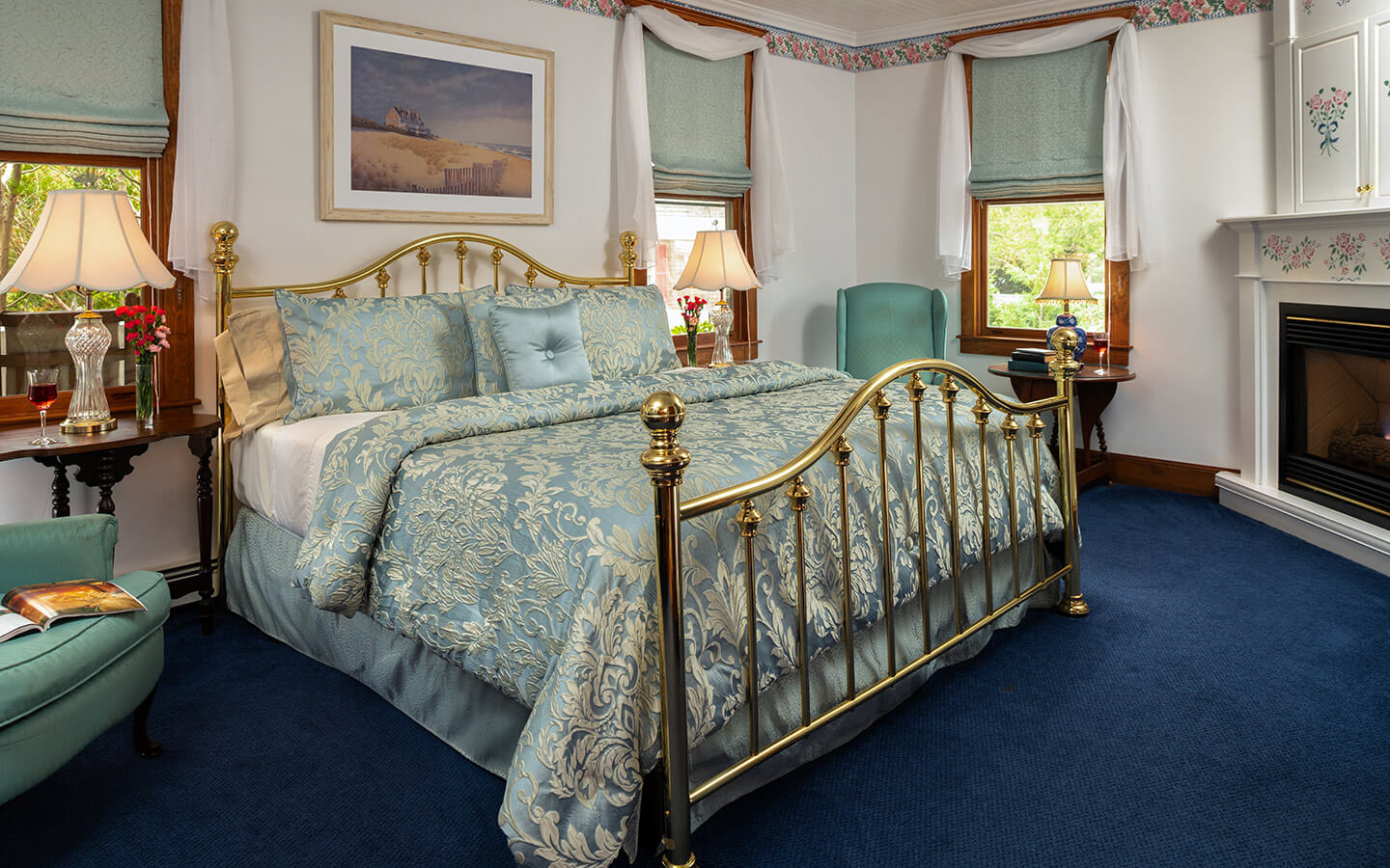 Spacious guest room at our Cape Cod B&B