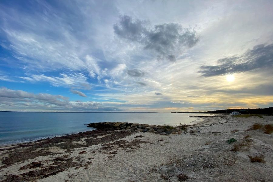 Visit Falmouth Beach on a Massachusetts Staycation